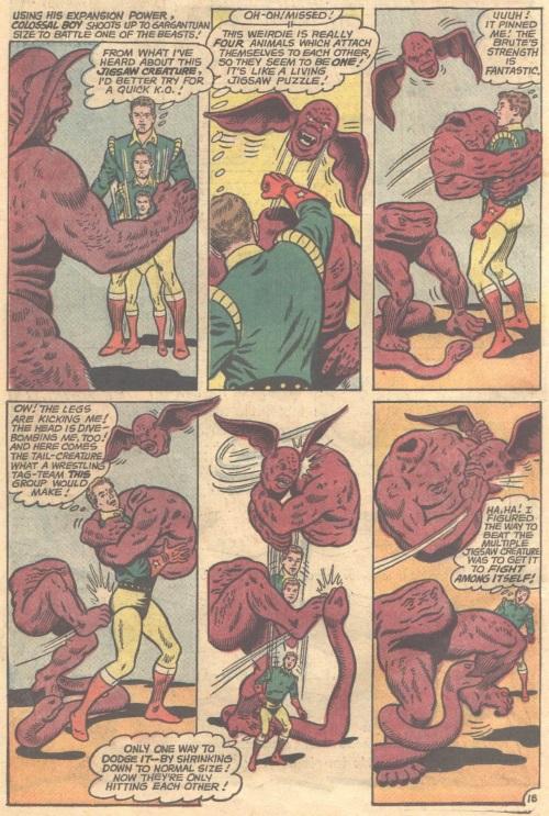 Appendages (detachable)-Jigsaw Creature-Adventure Comics V1 #350