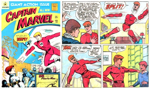 Appendages (detachable)–Captain Marvel (M. F. Enterprises)