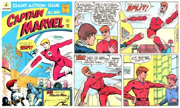 Appendages (detachable)–Captain Marvel (M. F. Enterprises)