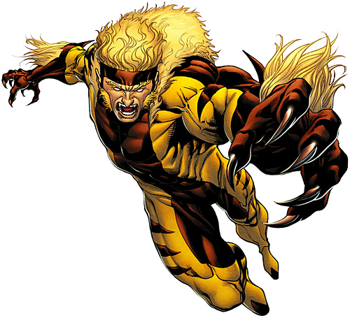 Appendages (fangs, nails)-Sabretooth