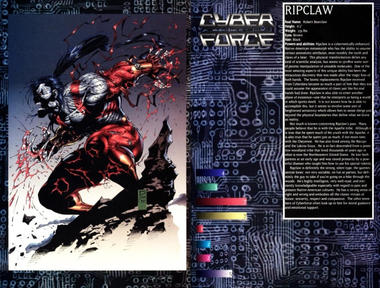 appendages-fangsclaws-ripclaw-cyberforce-sourcebook-1
