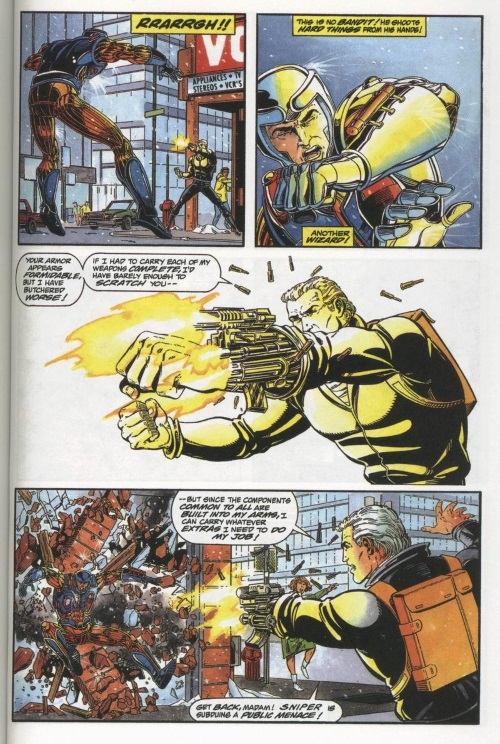 Appendages (firearm)-Sniper-X-O Manowar #3