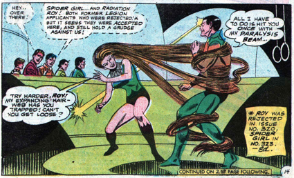 Appendages (hair)-Spider Girl - Adventure #372