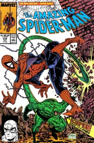 Appendages (tail)–Scorpion (Marvel)-Amazing Spiderman V1 318