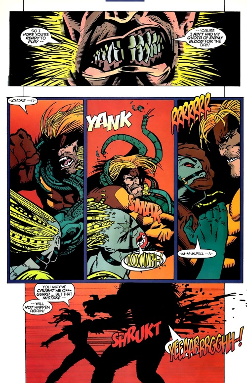 Appendages (tentacles)-Commander Cypher-Mystique & Sabretooth #4 (Marvel)2