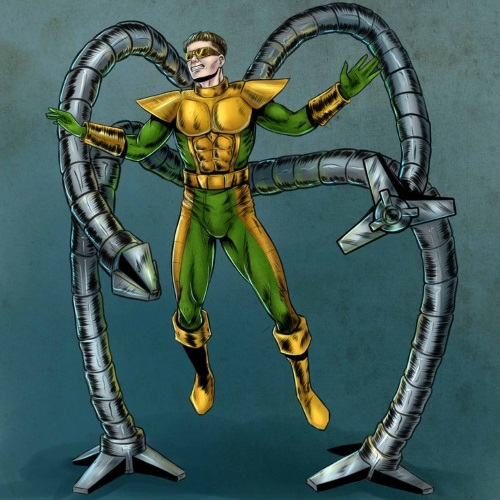 Appendages (tentacles)-Doctor Octopus (Marvel)