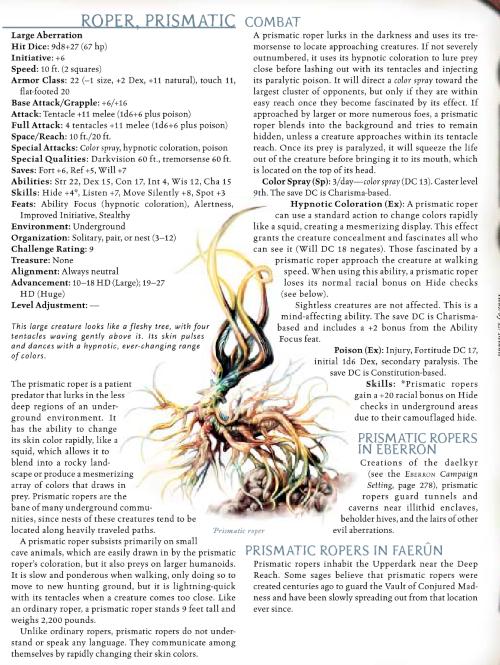 appendages-tentacles-prismatic-roper-dd-3-5-monster-manual-iii