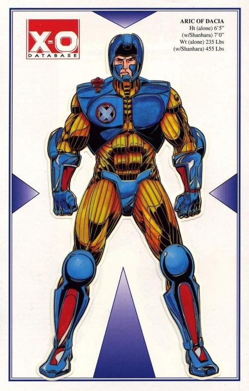 Armor (biological)-X-O Manowar Database #1-7