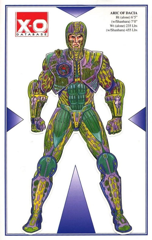 Armor (biological)-X-O Manowar Database #1-8