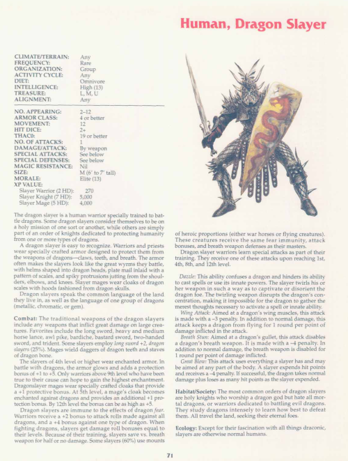 armor-magical-dragon-slayer-tsr-2158-monstrous-compendium-annual-volume-2