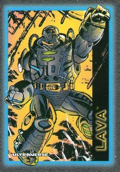 Armor (matter)-1993 SkyBox Ultraverse-18Fr Lava