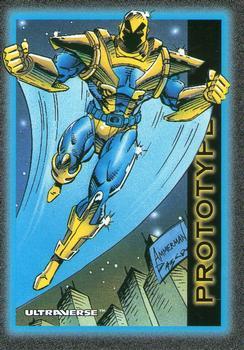 Armor (matter)-1993 SkyBox Ultraverse-26Fr Prototype