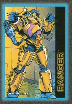 Armor (matter)-1993 SkyBox Ultraverse-28Fr Ranger