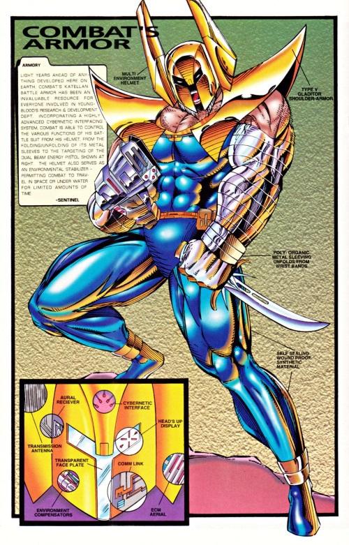 Armor (matter)-Combat-Youngblood Battlezone #1