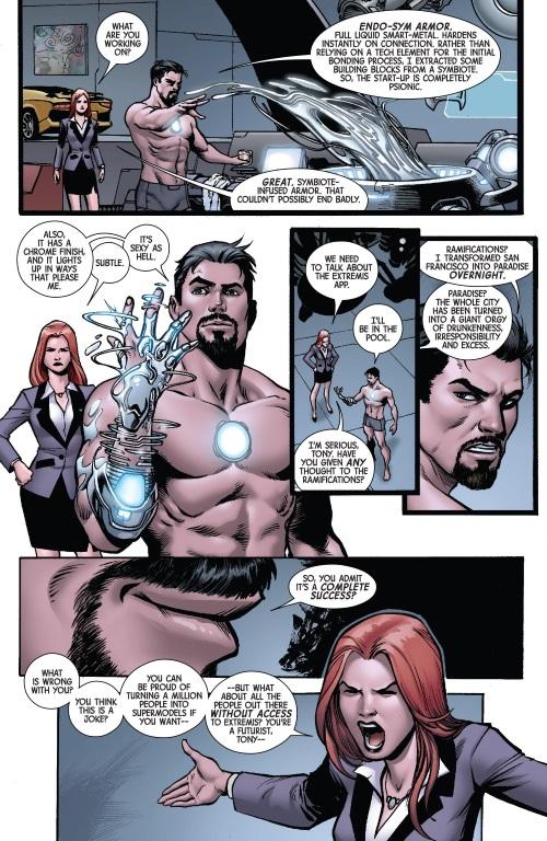 Armor (matter)- Endo-Sym Armor-Superior Iron Man #1 (2015)