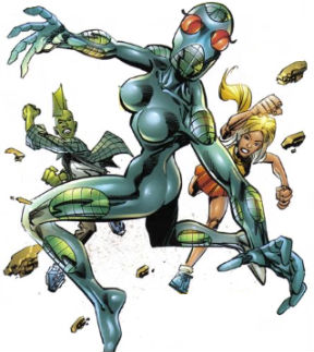 Armor (matter)-Insect-Savage Dragon