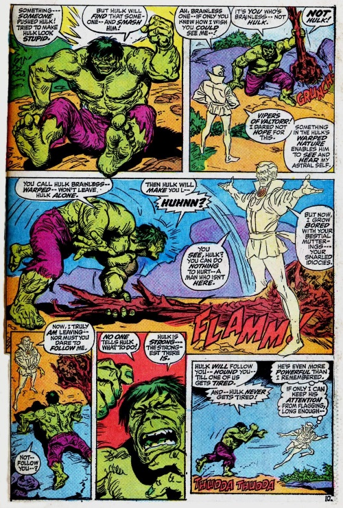 Astral Awareness-Hulk-Marvel Feature V1 #1 (1971)
