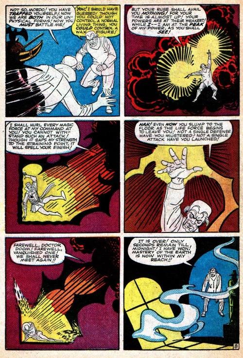 Astral Manipulation-Doctor Strange-Strange Tales V1 #121