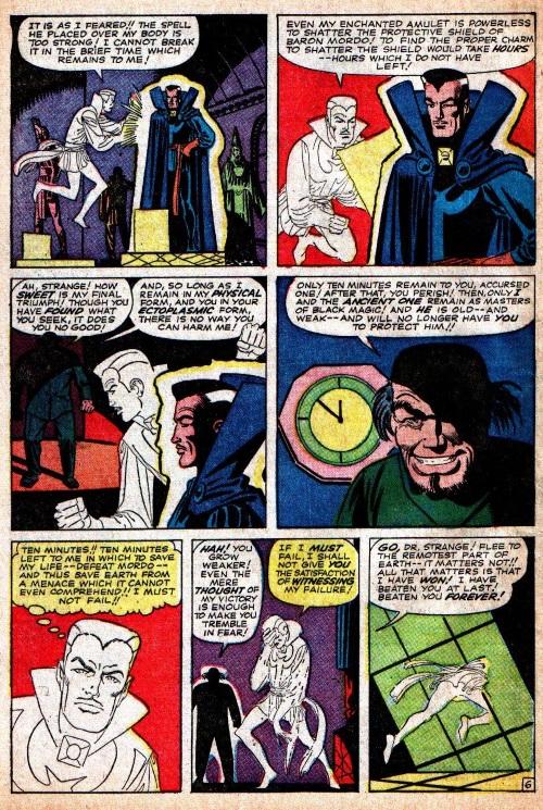 Astral Trapping-Doctor Strange-Strange Tales V1 #121