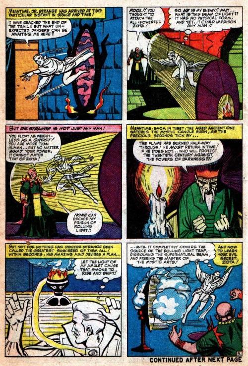 Astral Trapping-Doctor Strange-Strange Tales V1 #124