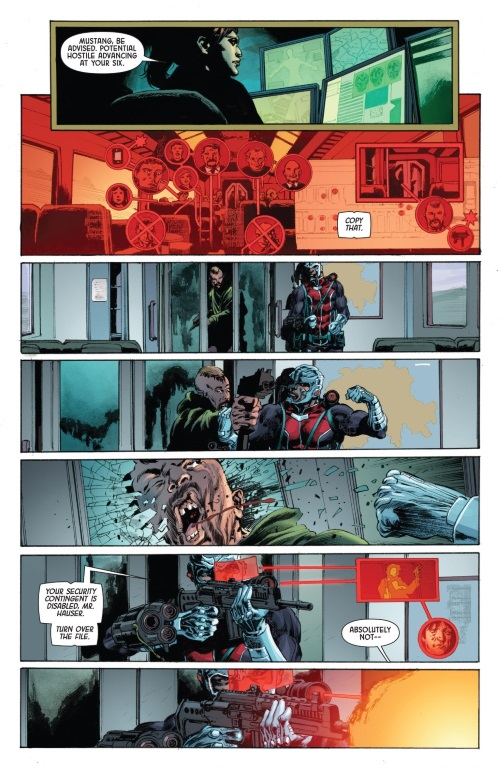 Augmented Reality-Deathlok V5 #1 (Marvel)