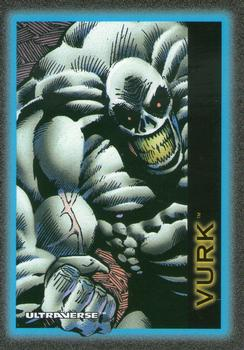 Biological Manipulation (freak)-1993 SkyBox Ultraverse-41Fr Vurk