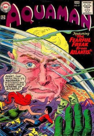 Biological Manipulation (freak)-OS-Aquaman V1 #21