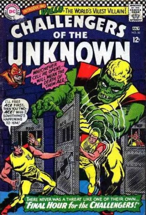 Biological Manipulation (freak)-OS-Challengers of the Unknown V1 #50