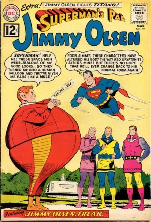 Biological Manipulation (freak)-OS-Jimmy Olsen V1 #59