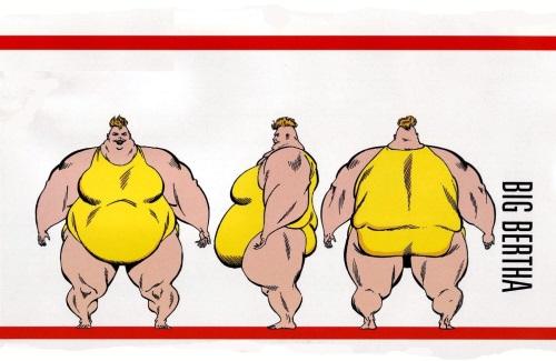 Biological Manipulation (weight)–nat-Big Bertha-OHOTMU Master Edition #3