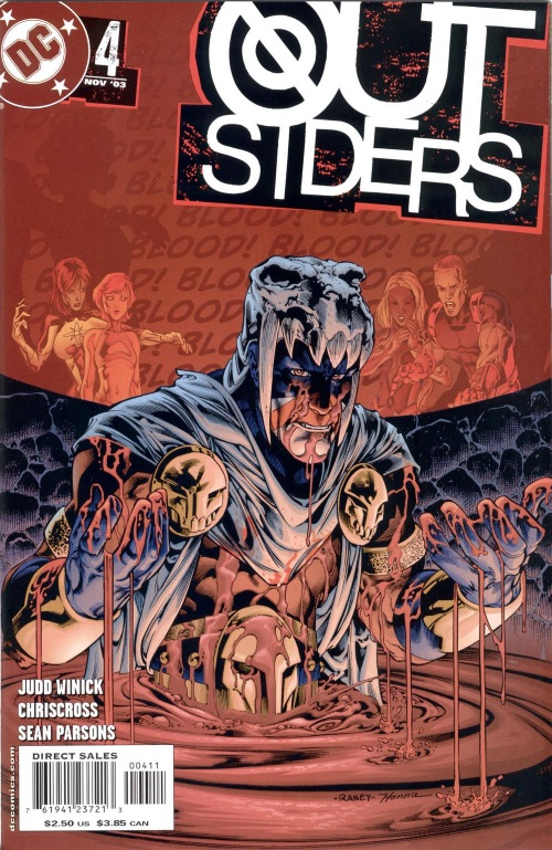 Blood Manipulation–Brother Blood-Outsiders V3 #4