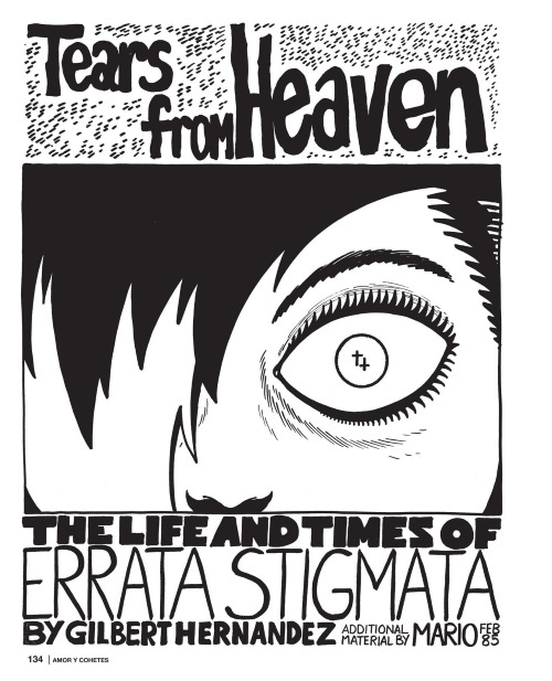 Blood Manipulation–Errata Stigmata-Amor Y Cohetes-The Love and Rockets Library V7-135