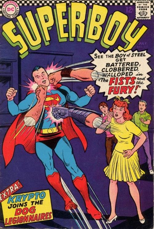 Body Part Disembodied-Arm–Superboy V1 #131