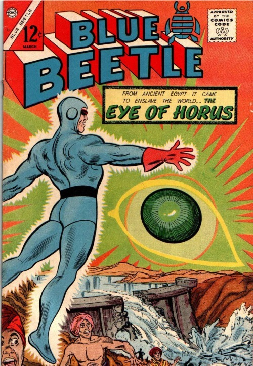 Body Part Disembodied-Eye–Blue Beetle V3 #54 (1965)