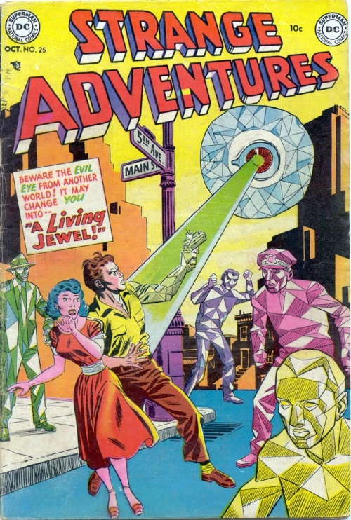 Body Part Disembodied-Eye–Strange Adventures #25 (1952)