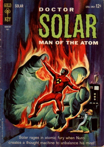 Body Part Disembodied-Hand-Doctor Solar, Man of the Atom #08 (Gold Key)