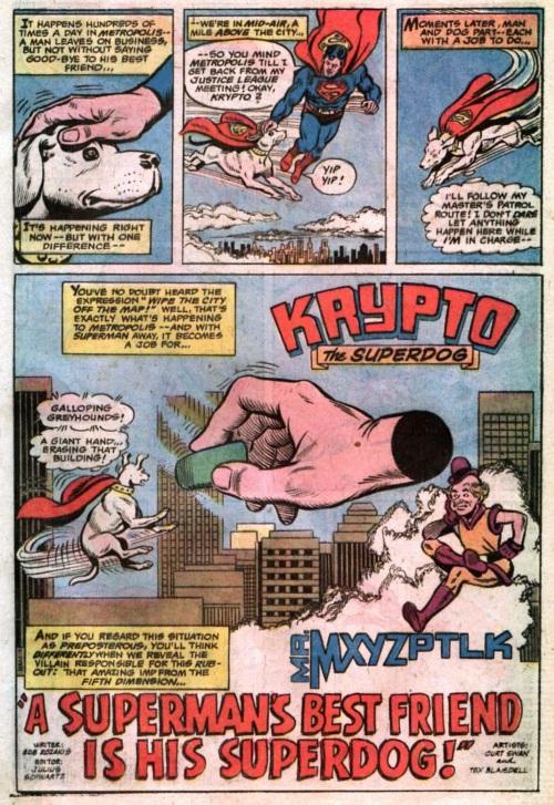 Body Part Disembodied-Hand-Krypto vs Mister Mxyzptlk-Action Comics #467