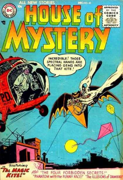 Body Part Disembodied-Hand-OS-House of Mystery V1 #45