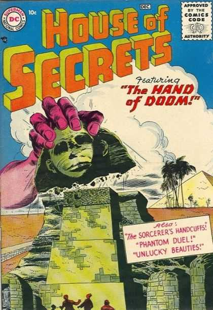 Body Part Disembodied-Hand-OS-House of Secrets V1 #1