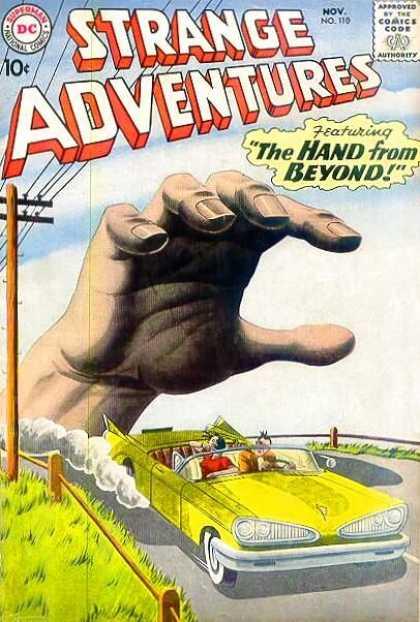 Body Part Disembodied-Hand-OS-Strange Adventures V1 #110