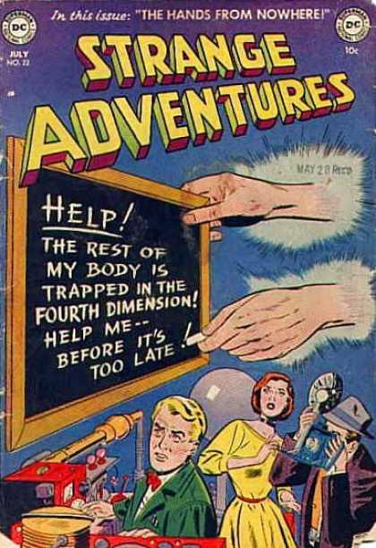 Body Part Disembodied-Hand-OS-Strange Adventures V1 #22