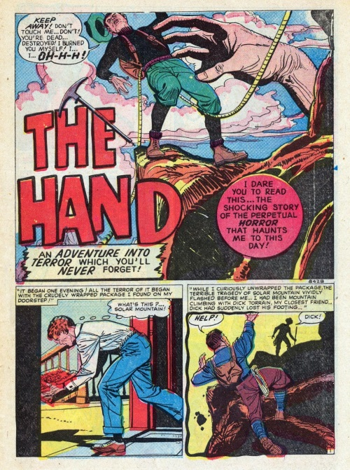 Body Part Disembodied-Hand–OS-Adventures Into Terror #5