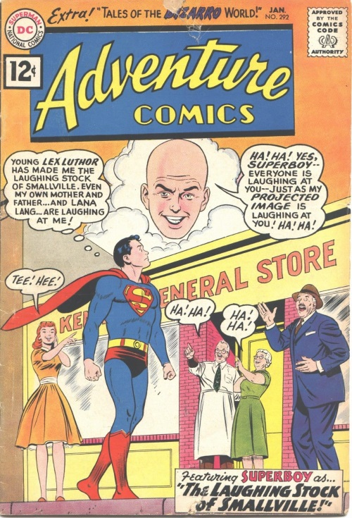 Body Part Disembodied-Head-Superboy-Adventure Comics V1 #292 (DC)