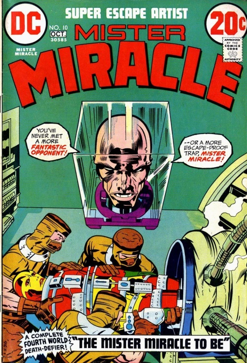 Body Part Disembodied-Head–Mister Miracle V1 #10 (1972)-1