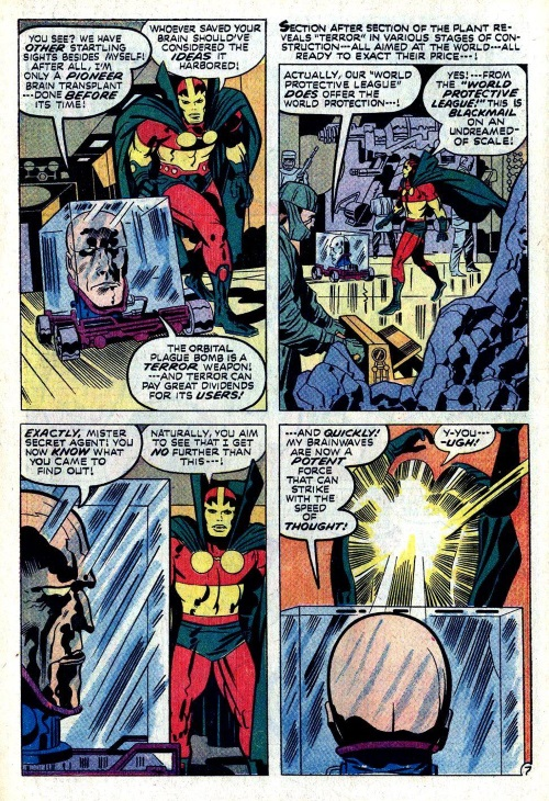 Body Part Disembodied-Head–Mister Miracle V1 #10 (1972)-10