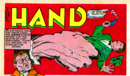Image result for speed comics the hand