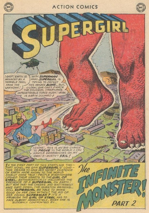 Body Part Disembodied–The Infinite Monster - Action Comics #285-19
