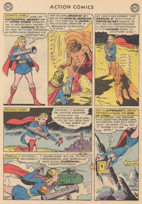 Body Part Disembodied–The Infinite Monster - Action Comics #285-26