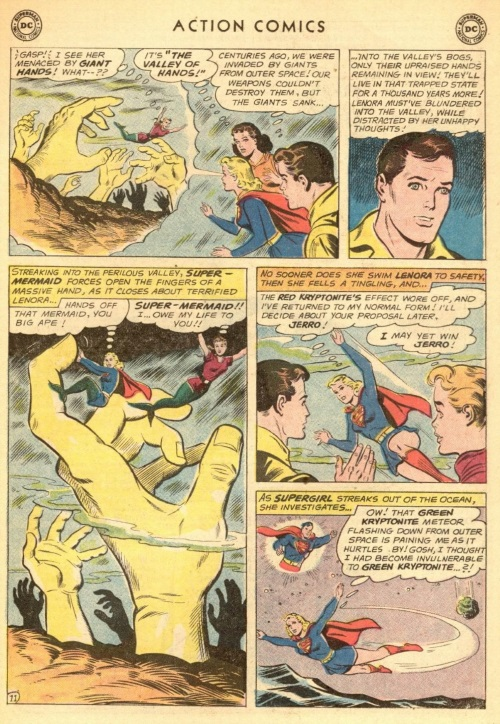 Body Part Disembodied–Valley of Hands-Action Comics #284