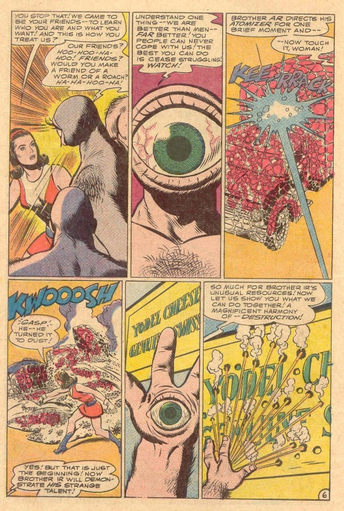 Body Part Enhanced Eyes–Doom Patrol #115